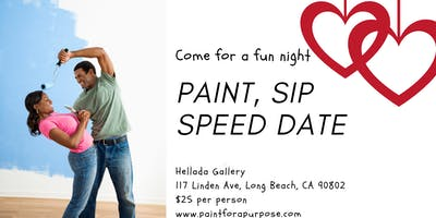PAINT, SIP, SPEED DATE