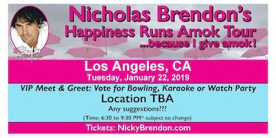 Nicholas Brendon (Buffy & Criminal Minds) Meet & Greet ‐ Los Angeles (CA)