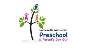 Noblesville Methodist Preschool & PDO Registration 2019-20