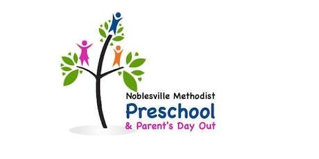 Noblesville Methodist Preschool & PDO Registration 2019-20 tickets