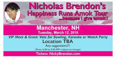 Nicholas Brendon (Buffy & Criminal Minds) Meet & Greet ‐ Manchester (NH)