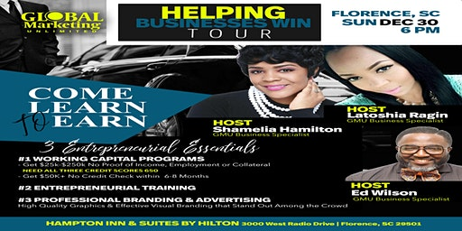 HELPING BUSINESSES WIN TOUR FLORENCE: SOUTH CAROLINA