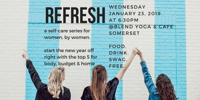 REFRESH - a self-care series for women, by women