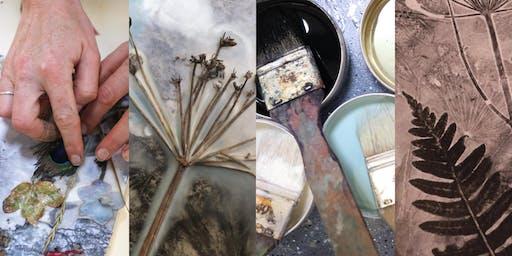 Encaustic Collage Painting Workshop