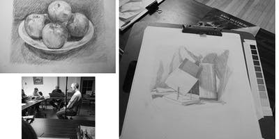 4 Week Class: Drawing for All Levels with Mickey Boisvert