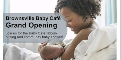 Baby Cafe Ribbon Cutting and Community Baby Shower