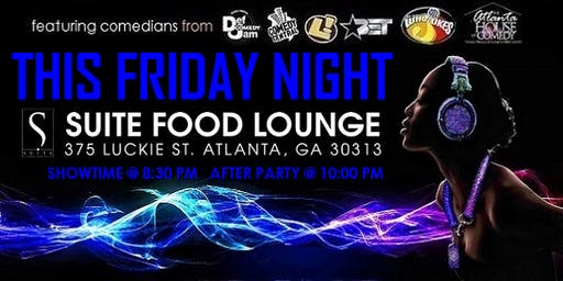 Friday Night Comedy & After Party