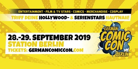 German Comic Con Berlin 2019 Tickets