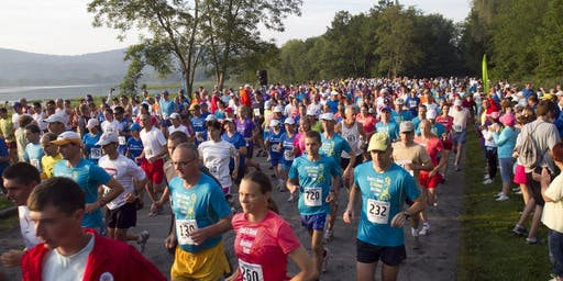 Sri Chinmoy Marathon At Rockland Lake, NY