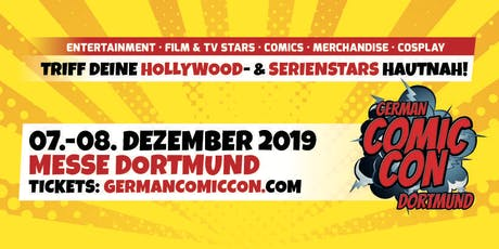 German Comic Con Dortmund 2019 Tickets