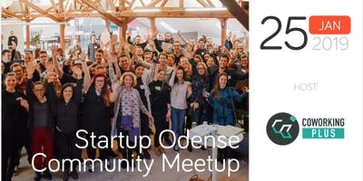 Startup Odense Community Meetup – Host: Coworking Plus