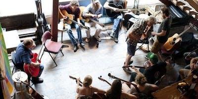 Folks/ Blues Jam Session w/ Pete de Vitry