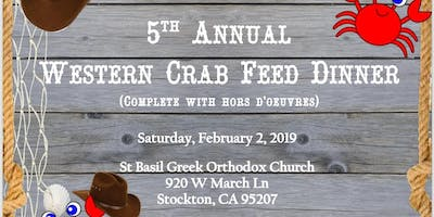 5th Annual Western Crab Feed