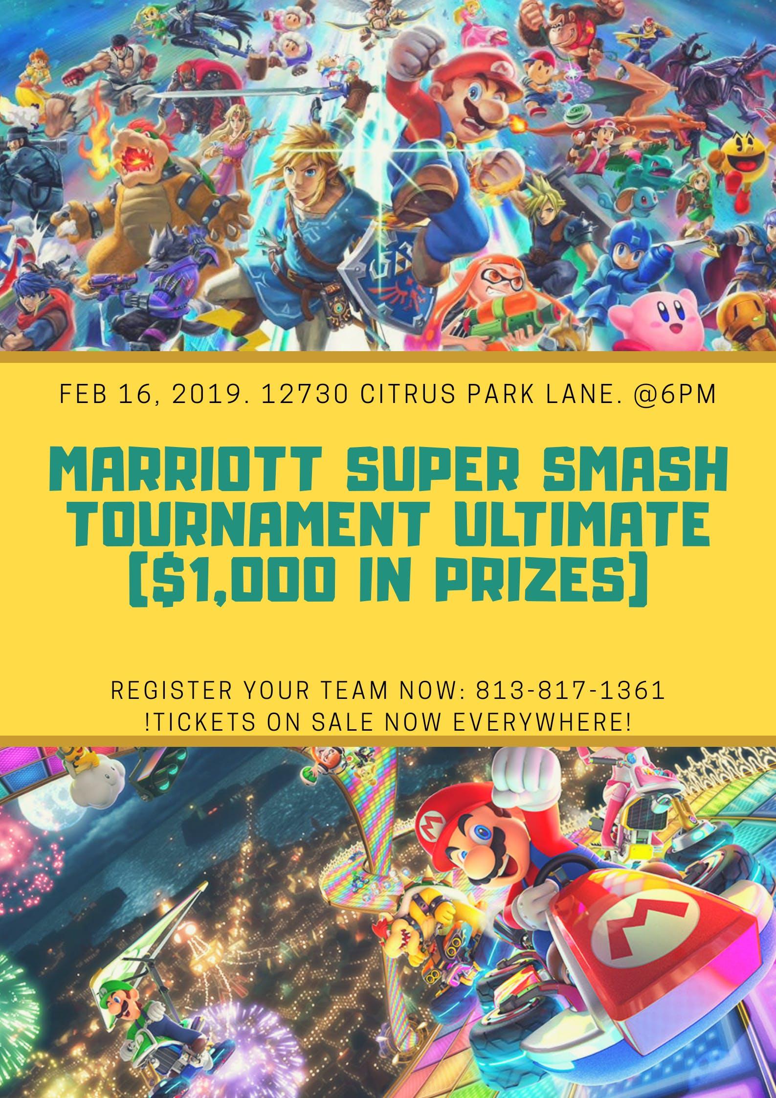 Mario Tournament at the Marriott (Tampa, Fl)