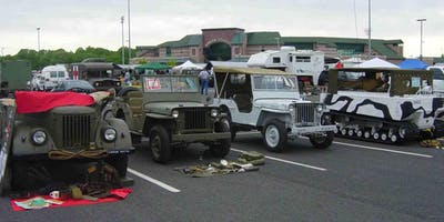 46th Annual Military Vehicle Car Show and Huge Militaria Surplus Flea Market