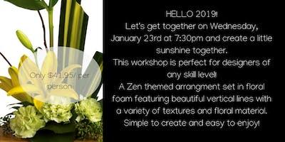 Floral Workshop: Sunshine Zen