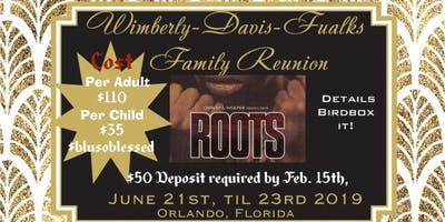 "WHITAKER-FAULKS FAMILY REUNION ""HELP ME GET INTO HEAVEN"""