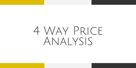 4 Way Price Analysis - Dulles tickets