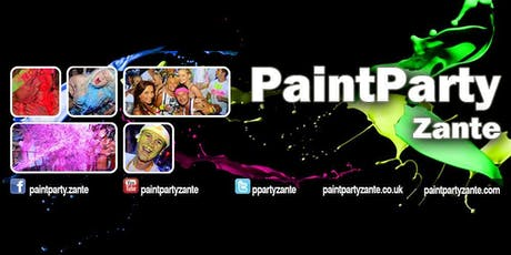 Paint Party Zante 2019 Deposit tickets