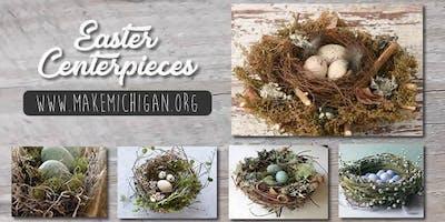 Easter Centerpieces - Wayland