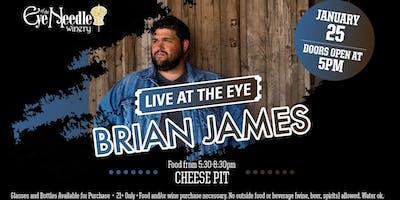 LIVE at the Eye: Brian James January 25, 2019 at 5:00 pm