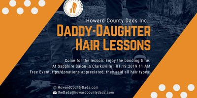Daddy-Daughter Hair Lessons