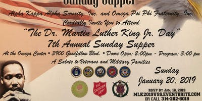 MLK2019VSS- Salute to the Veterans Sunday Supper