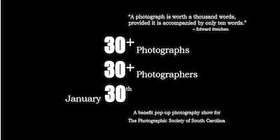 : 30+ / 30+ / 30th January :         A-PopUp-Photography-Show