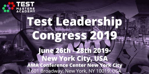 Test Leadership Congress 2019