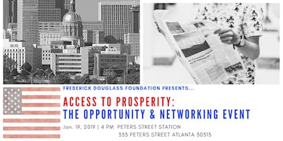 Access to Prosperity: The Connection & Opportunity Networking Event