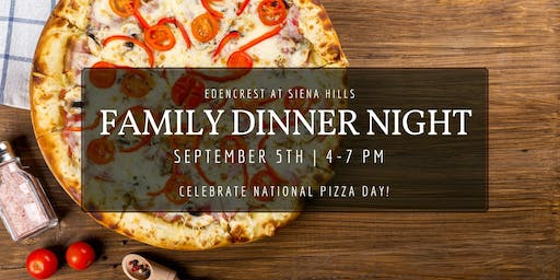 Family Dinner Night- Pizza Night