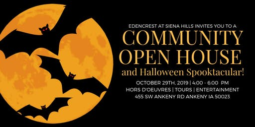Community Open House- Halloween Spooktacular