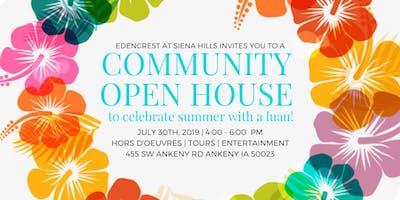 Community Open House- Summer Luau