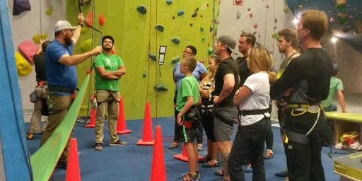 Intro to Climbing with UpaDowna @ CityROCK