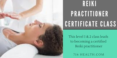 Reiki 1 and 2 Practitioner Certification Course