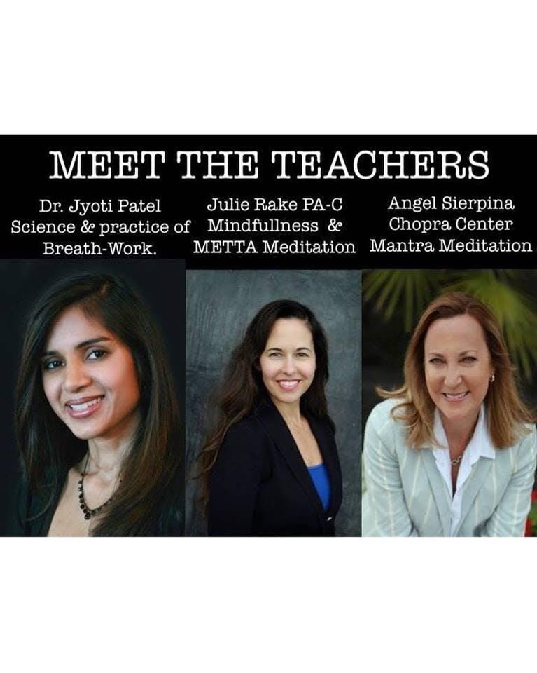 Meditation Retreat 'New Year New You' with Jyoti Patel M.D. & Julie Rake PA