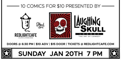 Best of Atlanta Comedy at Red Light Café presented by Laughing Skull Lounge