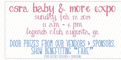 2019 CSRA Baby and MORE Expo