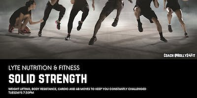 NEW Workout: Solid Strength! a Community building cross training circuit