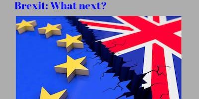 Public Debate: Brexit: What Next?