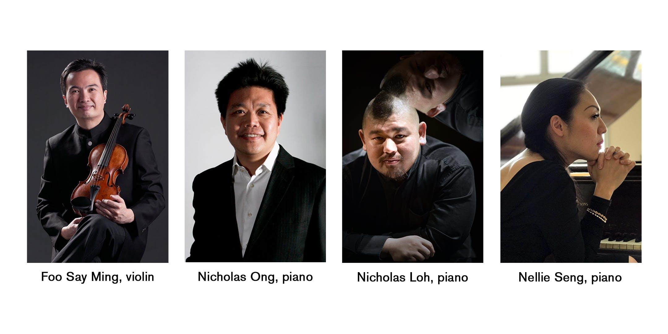 Faculty Recital Series: Brahms' Violin Sonata