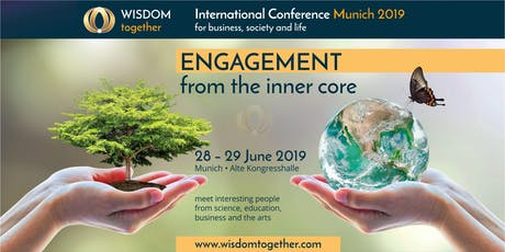 Wisdom Together Conference June 2019 in Munich tickets