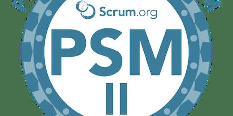 Professional Scrum Master II - Israel - June 2019 tickets