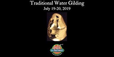 Traditional Water Gilding Class (San Francisco, Artist & Craftsman) tickets