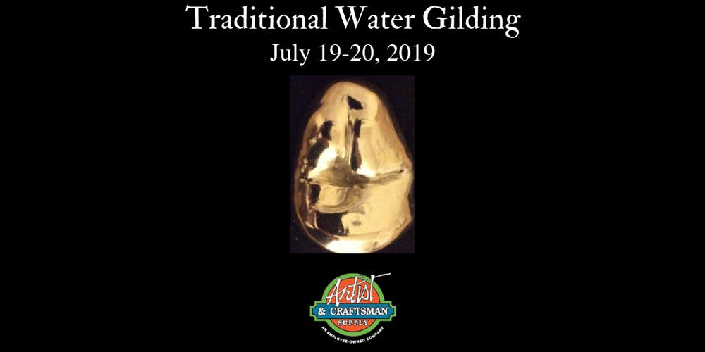Traditional Water Gilding Class San Francisco Artist Craftsman