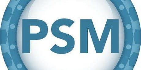 Professional Scrum Master Training (PSM)- Israel tickets