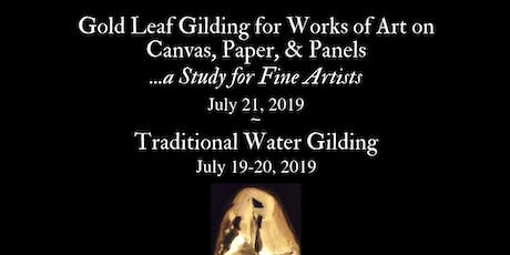 Gilding Class for Works of Art on Canvas, Paper, & Panels (San Francisco, Artist and Craftsman) tickets