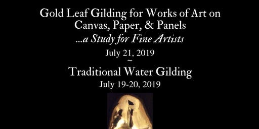 Gilding Class for Works of Art on Canvas, Paper, & Panels (San Francisco, Artist and Craftsman)