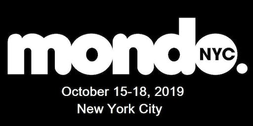 Mondo.NYC 2019 MUSIC FESTIVAL & GLOBAL MUSIC/TECH BUSINESS CONFERENCE