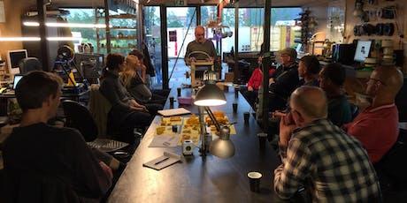 Workshop: basiscursus CNC-frees met kleine frees 2019 tickets